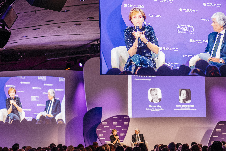 Women's Forum Dame Kirstin Scott Thomas